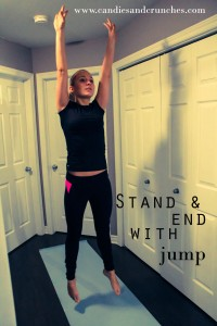 Stand and end with jump