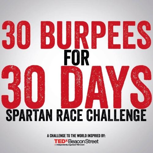 #30burpeesfor30 days