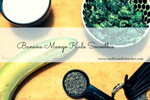 Banana Mango Kale Smoothie