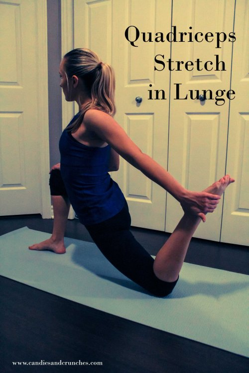 Quadriceps Stretch in Lunge