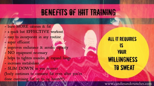Benefits of HIIT Training