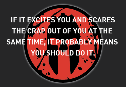 if it excites you