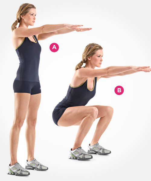 Body-weight Squat