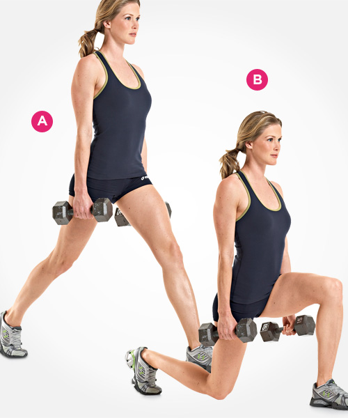 Dumbell Split Squat