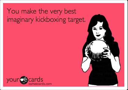 kickboxing target