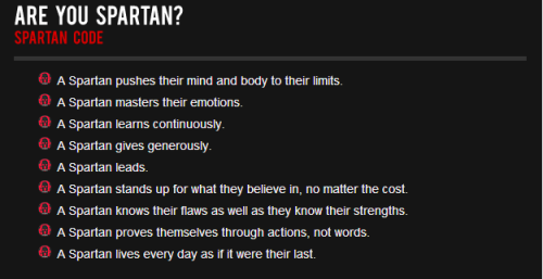 Spartan Code
