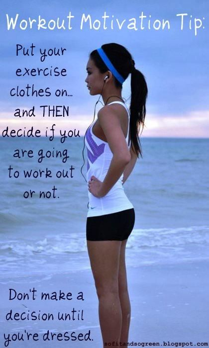 workout motivation tip
