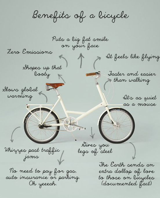 Benefits Of A Bicycle: Keep Calm & Ride On