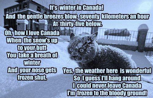 winter in Canada