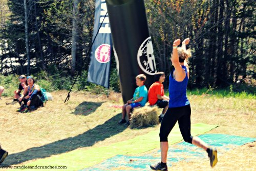 Super Spartan finish line