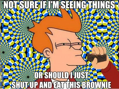 not-sure-if-seeing-things-or-eat-this-brownie-meme