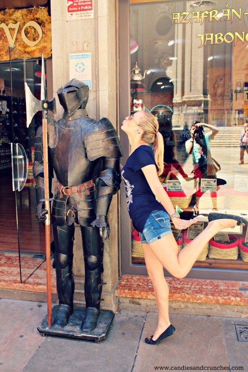Flirting with a knight