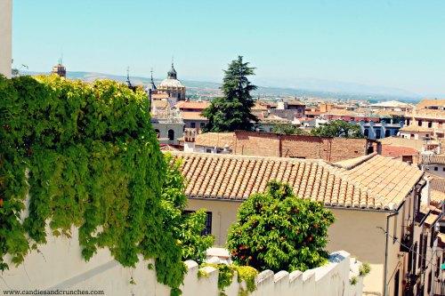 rooftops in Granada