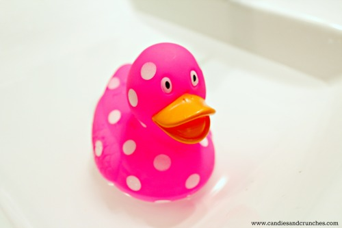 Pink duckling for a girl
