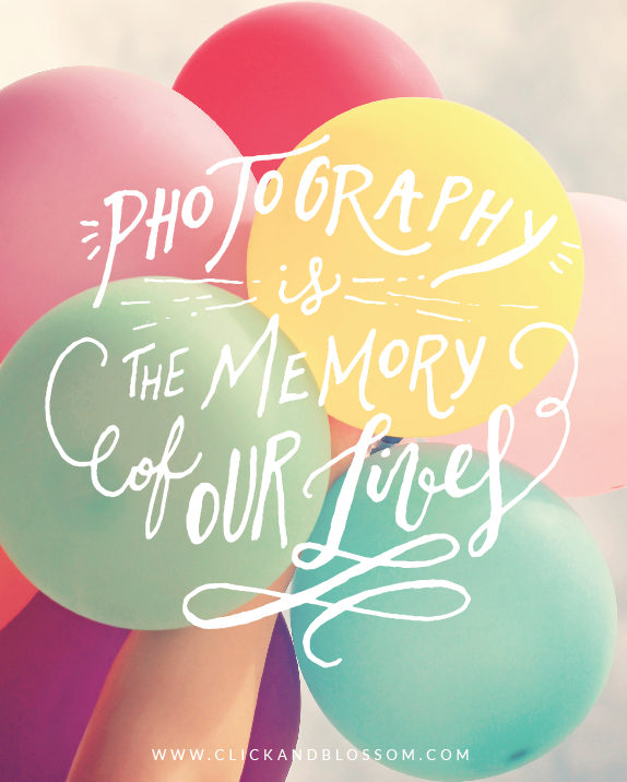 Photography Is The Memory