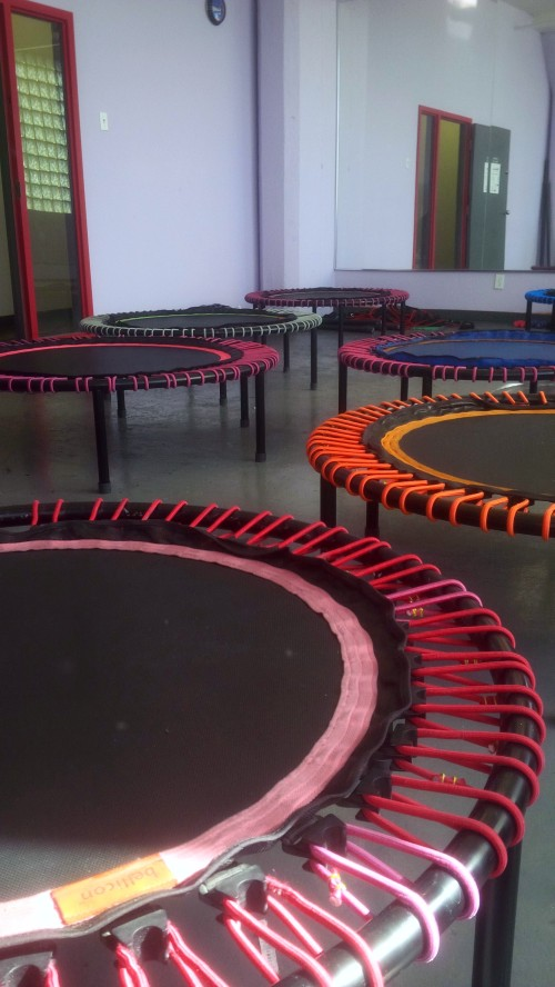 Trampolines at ReboundFit