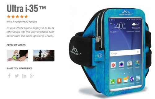 Ultra i-35 armpocket